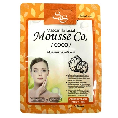 mascarilla facial co2 coco